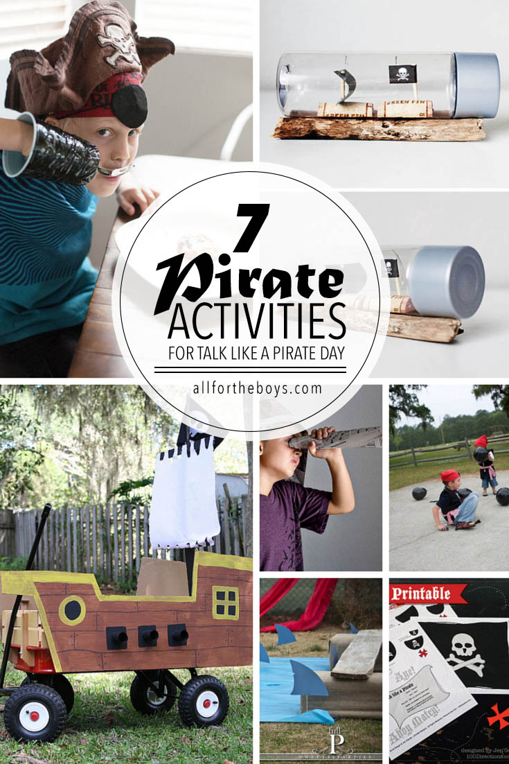 Talk like a pirate day activities at allfortheboys.com