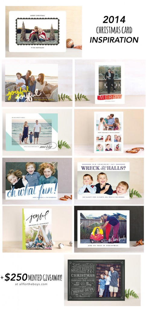 Holiday Cards + $250 Minted Giveaway!