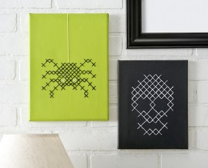 DIY Halloween Cross Stitch