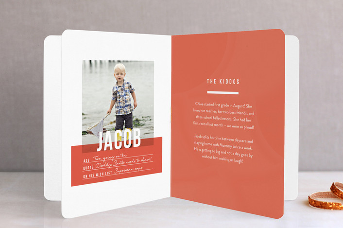 Minted Booklet Card