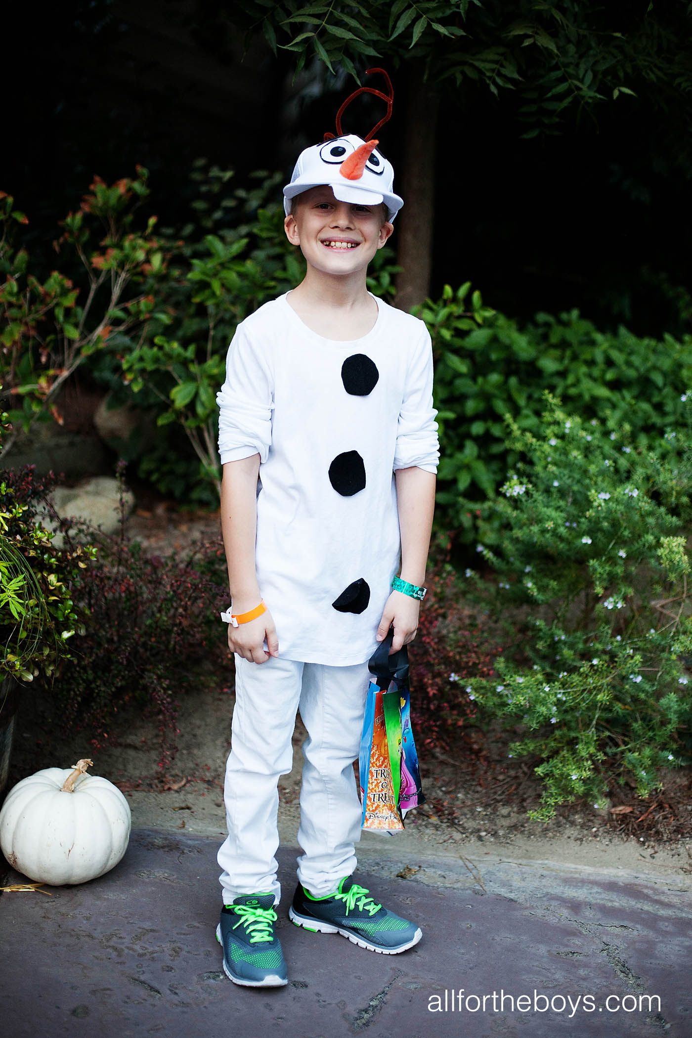 Diy kids olaf costume all for the boys for Diy halloween costumes for kid boy