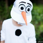 DIY Kids Olaf Costume