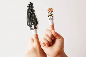 Printable Star Wars Puppets