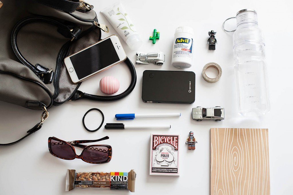 What's in My Bag? Mom On-the-Go