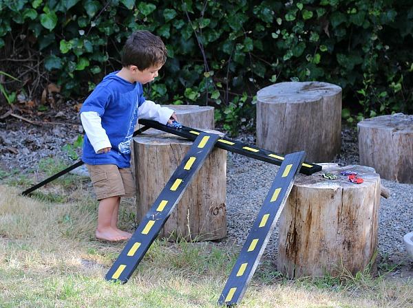 DIY wooden roads & ramps