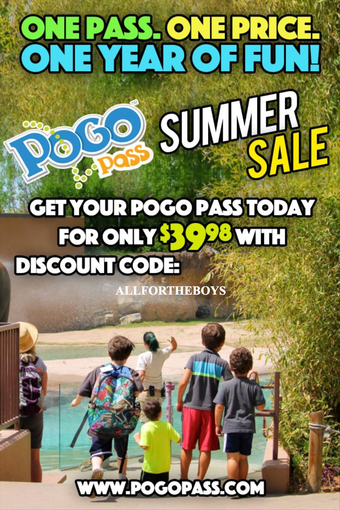POGO Pass $10 discount promo code!