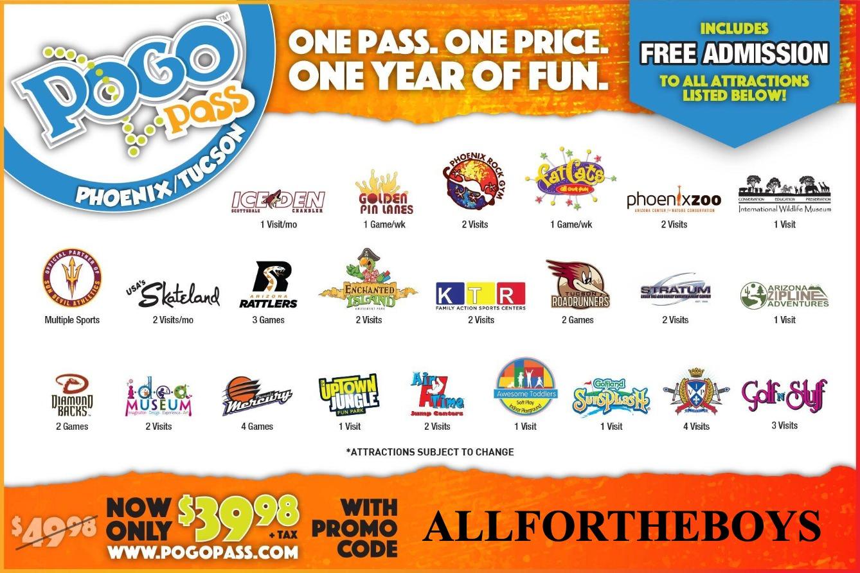 POGO Pass 60% discount promo code!