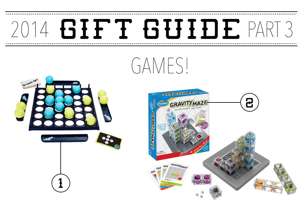 2014 Gift Guide: Part 3 – Games!