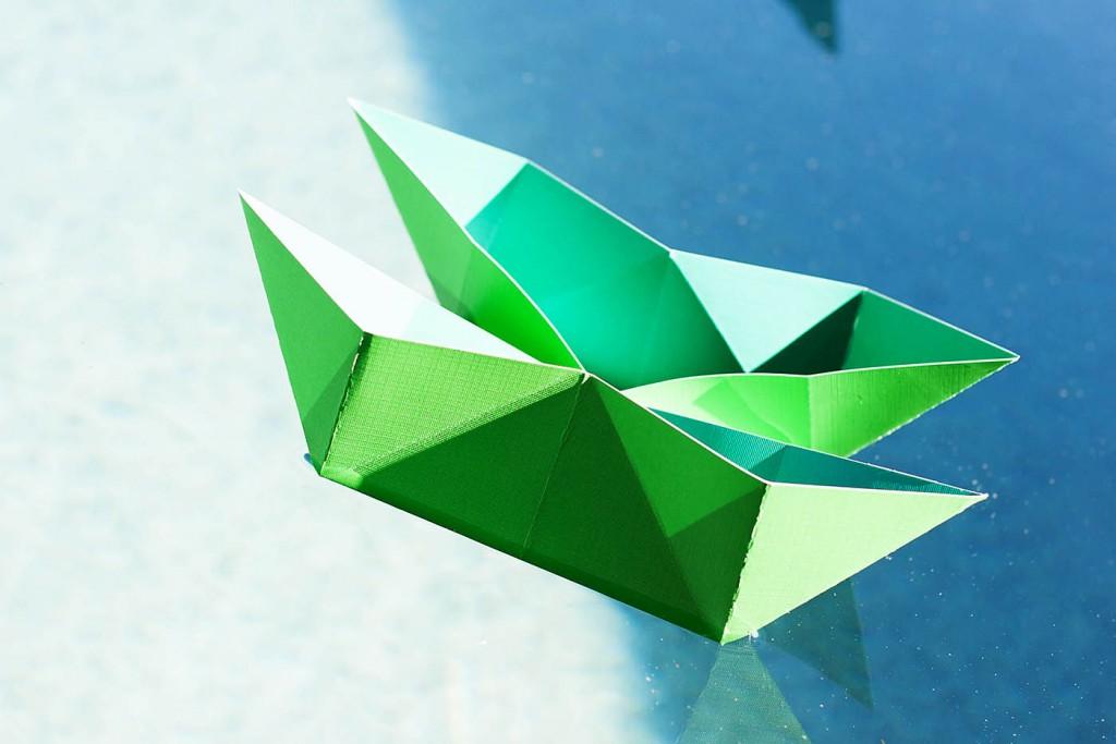 DIY Folded Floating Catamaran