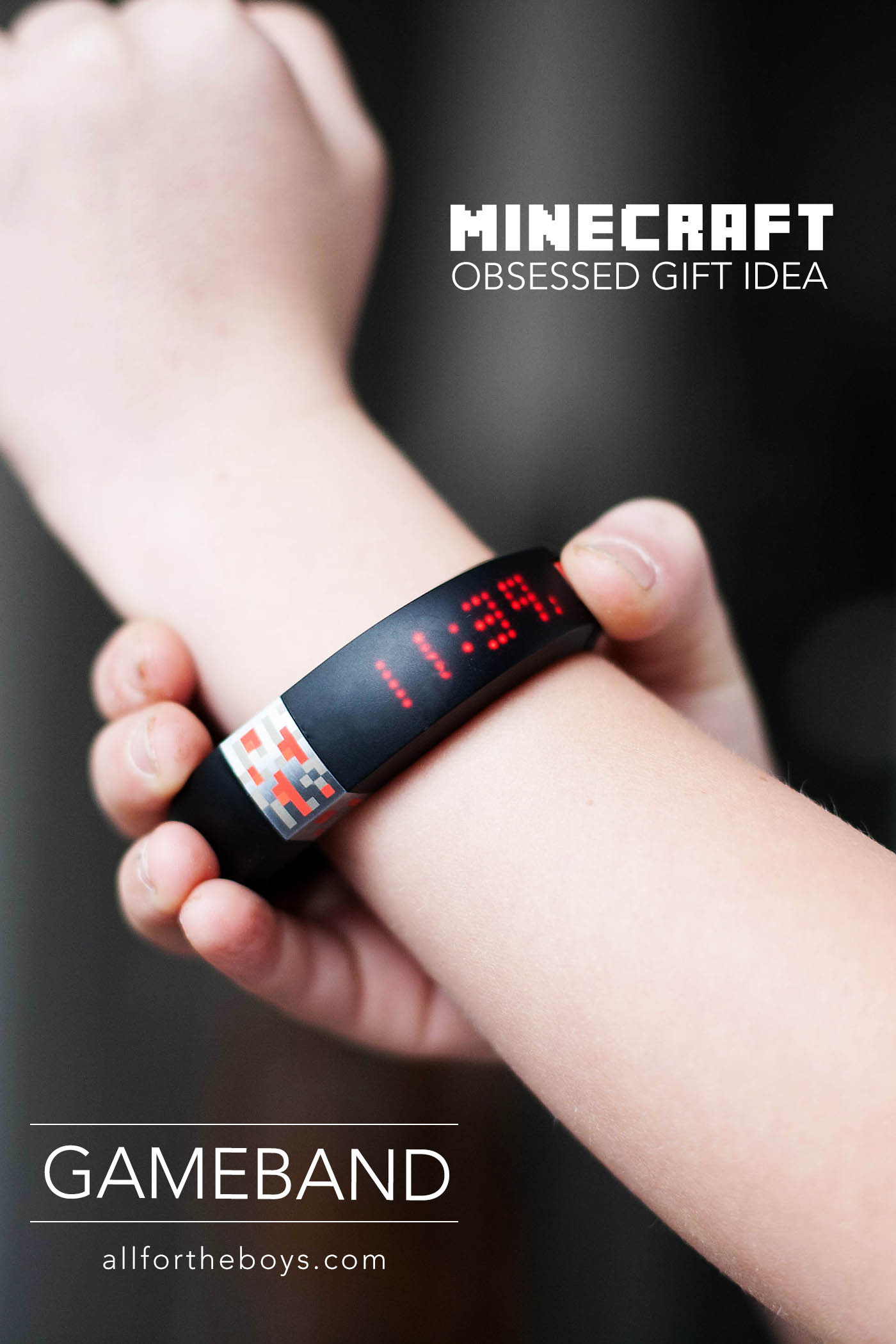 Gameband - gift idea for Minecraft fans