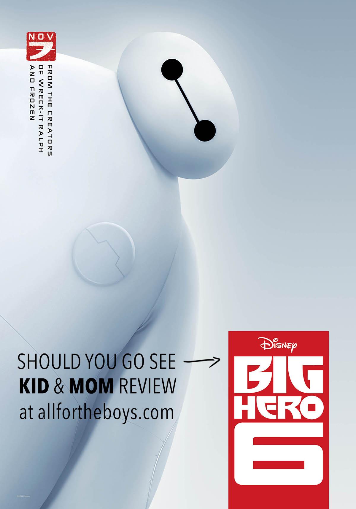 Disney's Big Hero 6 Review