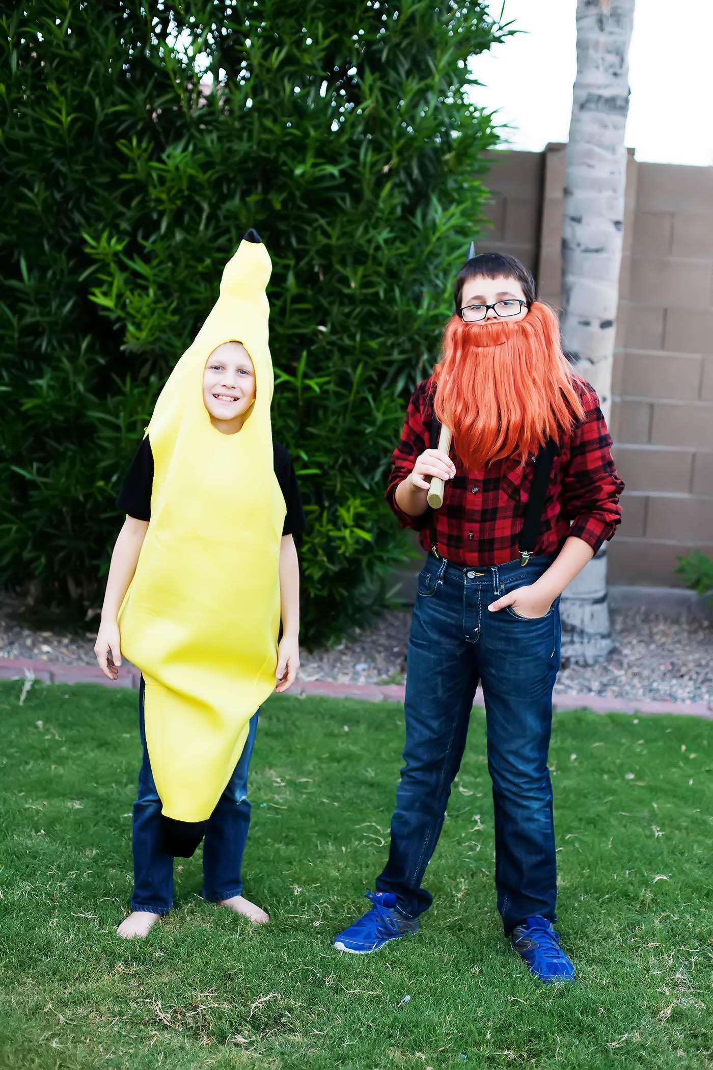 banana and lumberjack