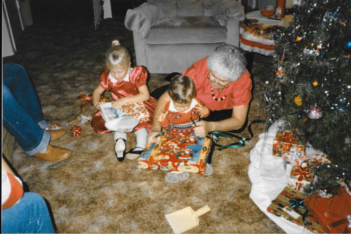 Family holiday traditions then & now