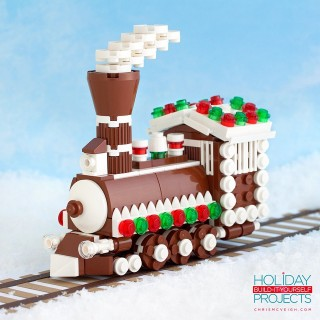 Holiday LEGO Building Instructions