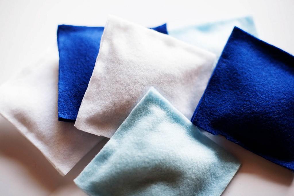 DIY No-Sew Bean Bags