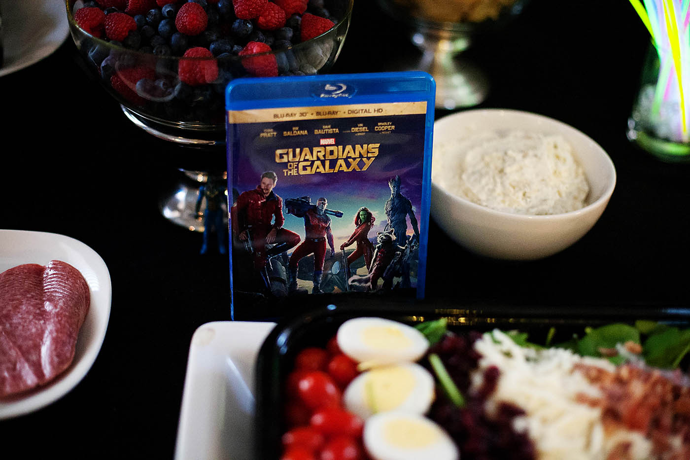 Guardians of the Galaxy movie night dance party