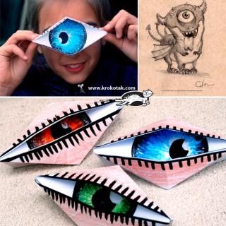 Origami Eye