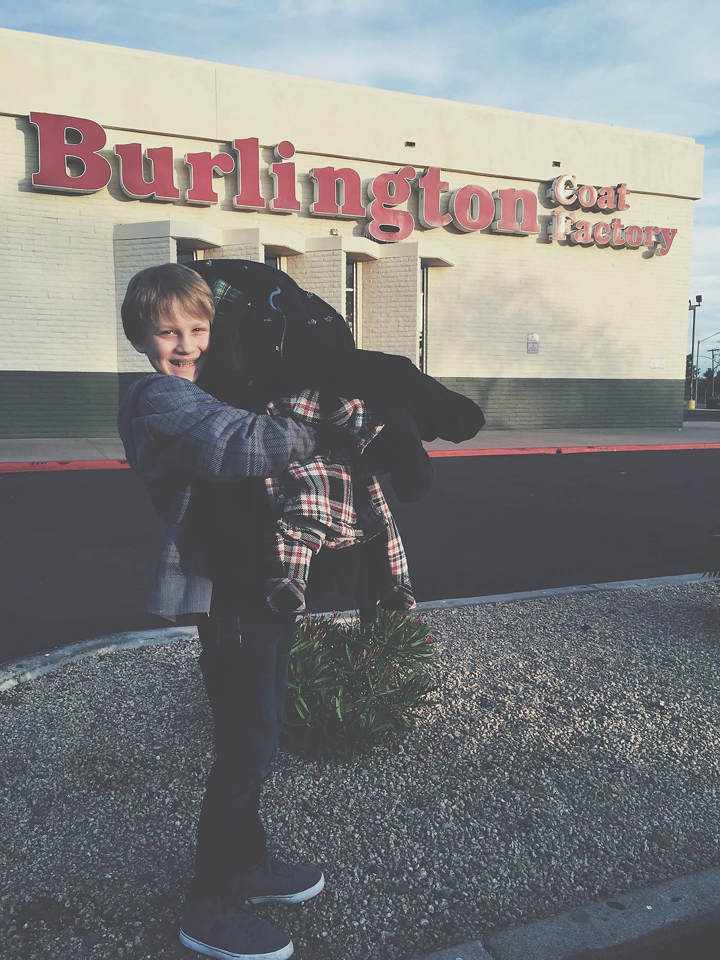 Burlington Coat Drive