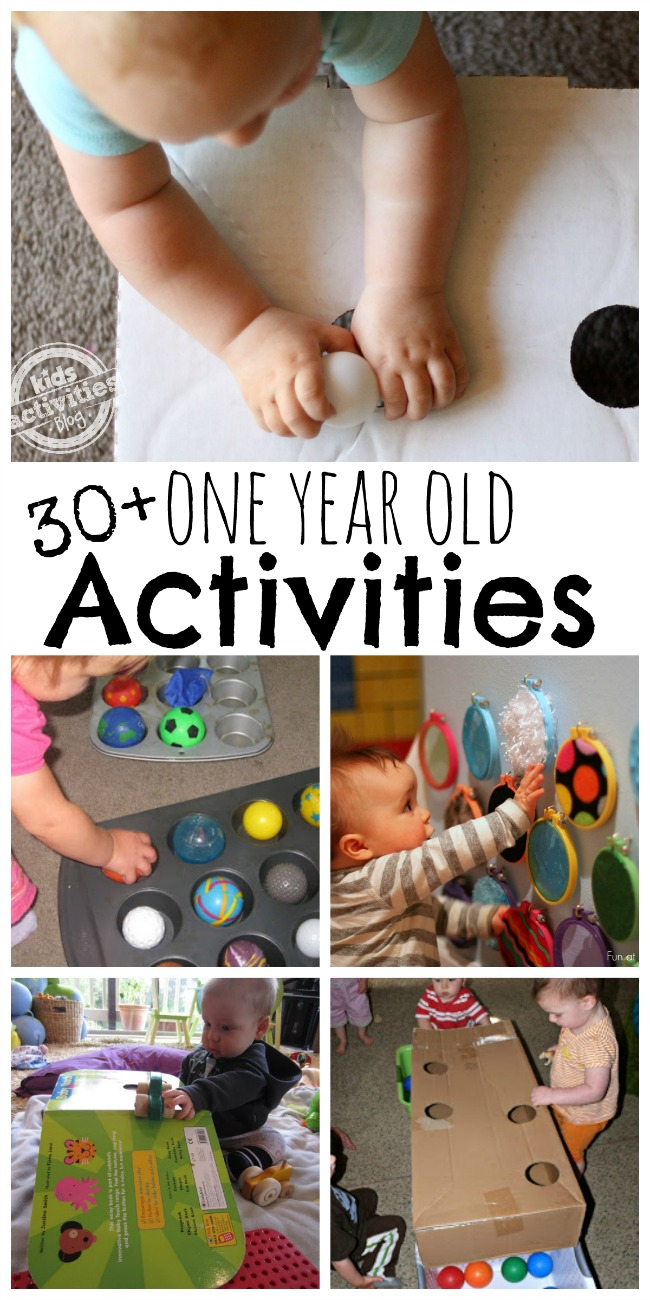 activities for one year olds all for the boys