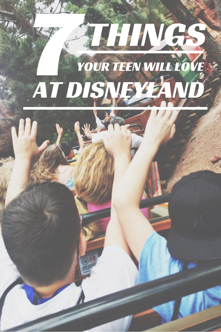 7 things your teen or tween boy will love at Disneyland