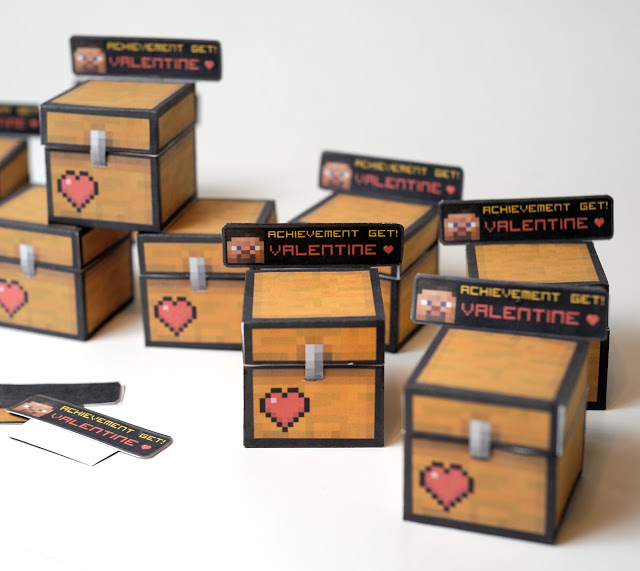 MInecraft Valentine chest
