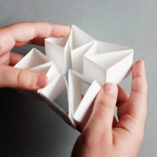 Convertible paper toy