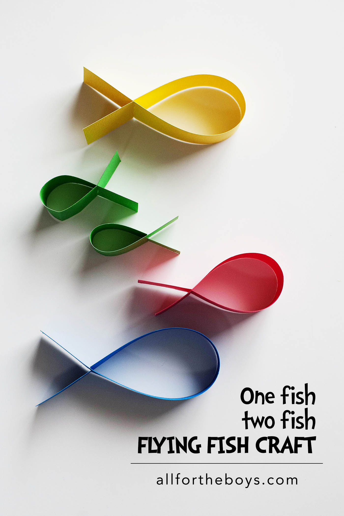 Dr. Sues one fish two fish craft