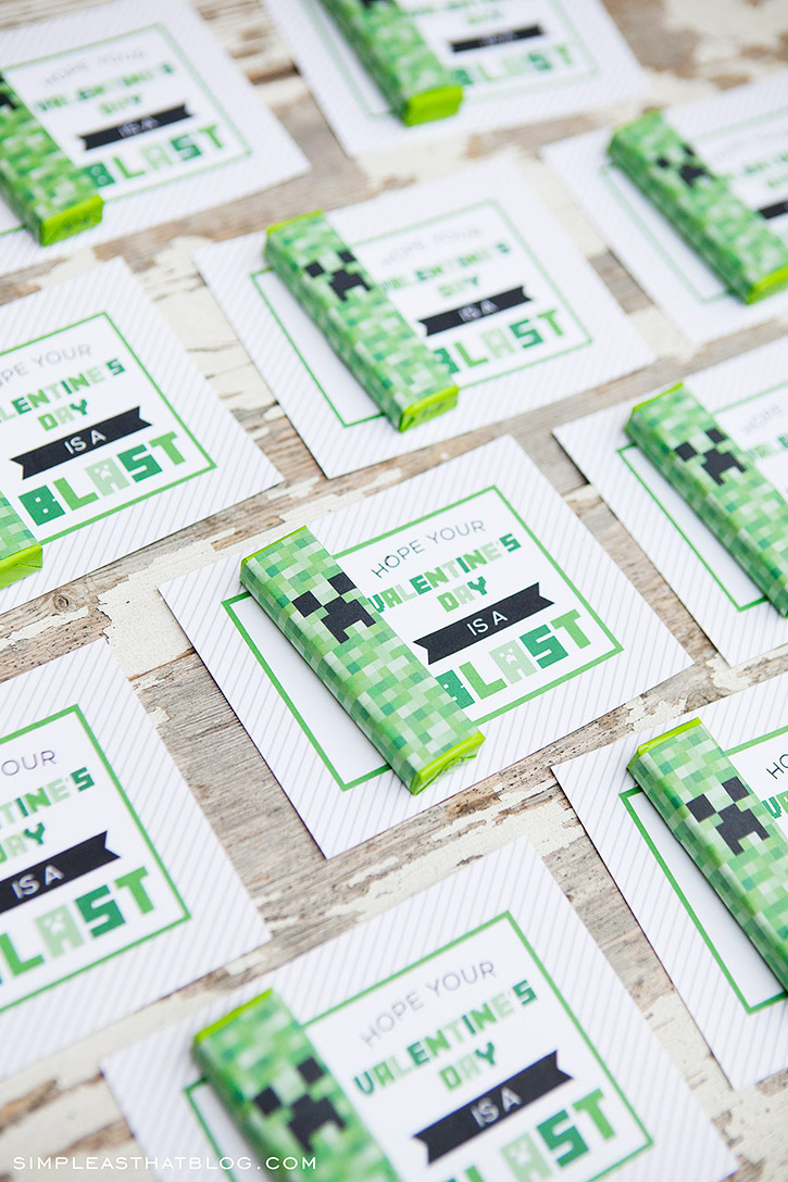 Minecraft Printables — All for the Boys