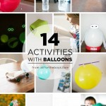 14 activities using balloons!