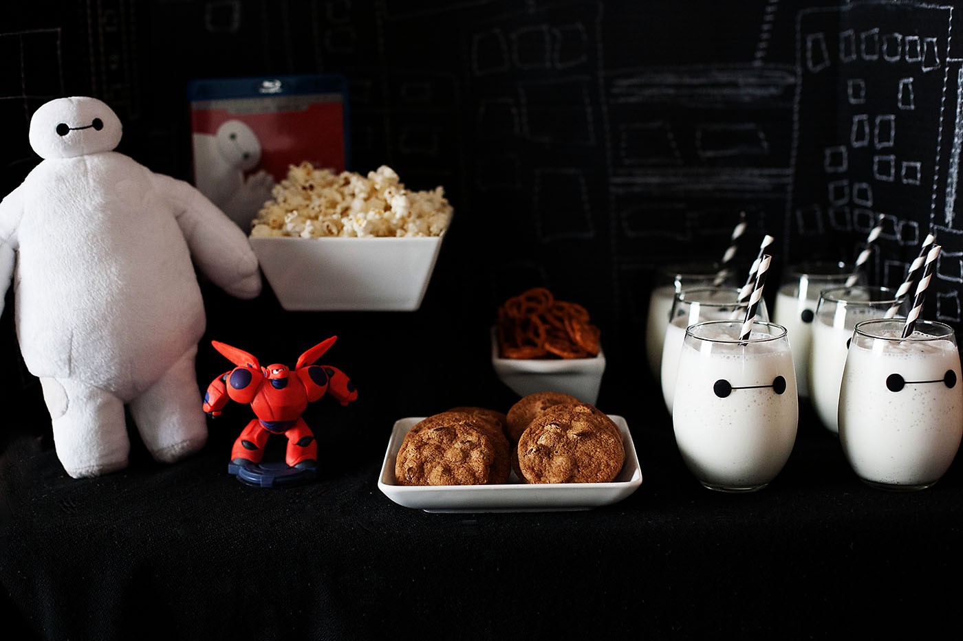 Big Hero 6 DVD Release Party — All for the Boys