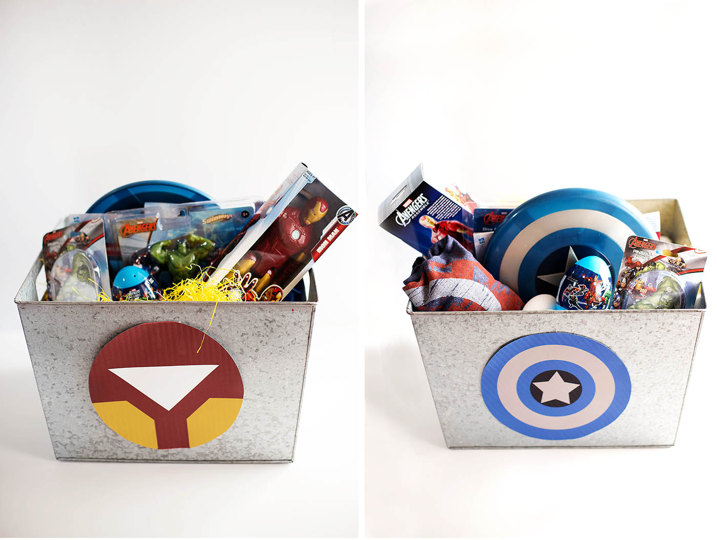 Modern Marvel Easter Basket
