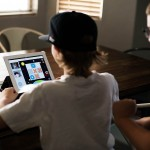 Panasonic HomeTeam online service that allows you to see, play games and read books with loved ones!