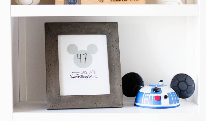 We're Going to Disney World + Printable Countdown!