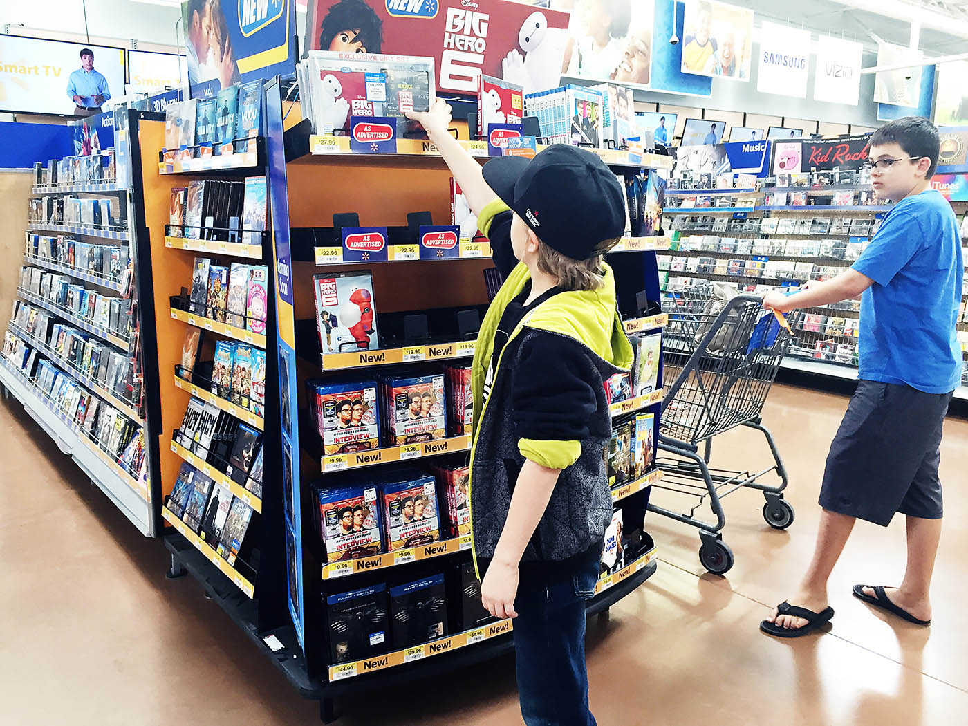 Big Hero 6 at Walmart