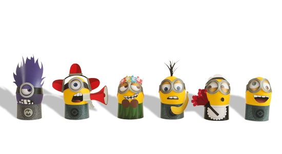 Printable Minion Eggs