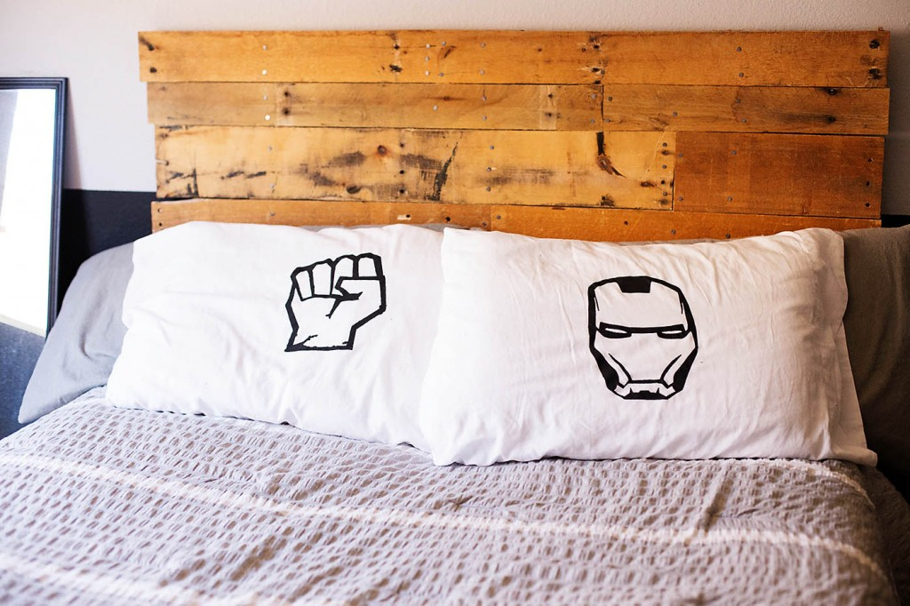 DIY Avengers Pillowcases