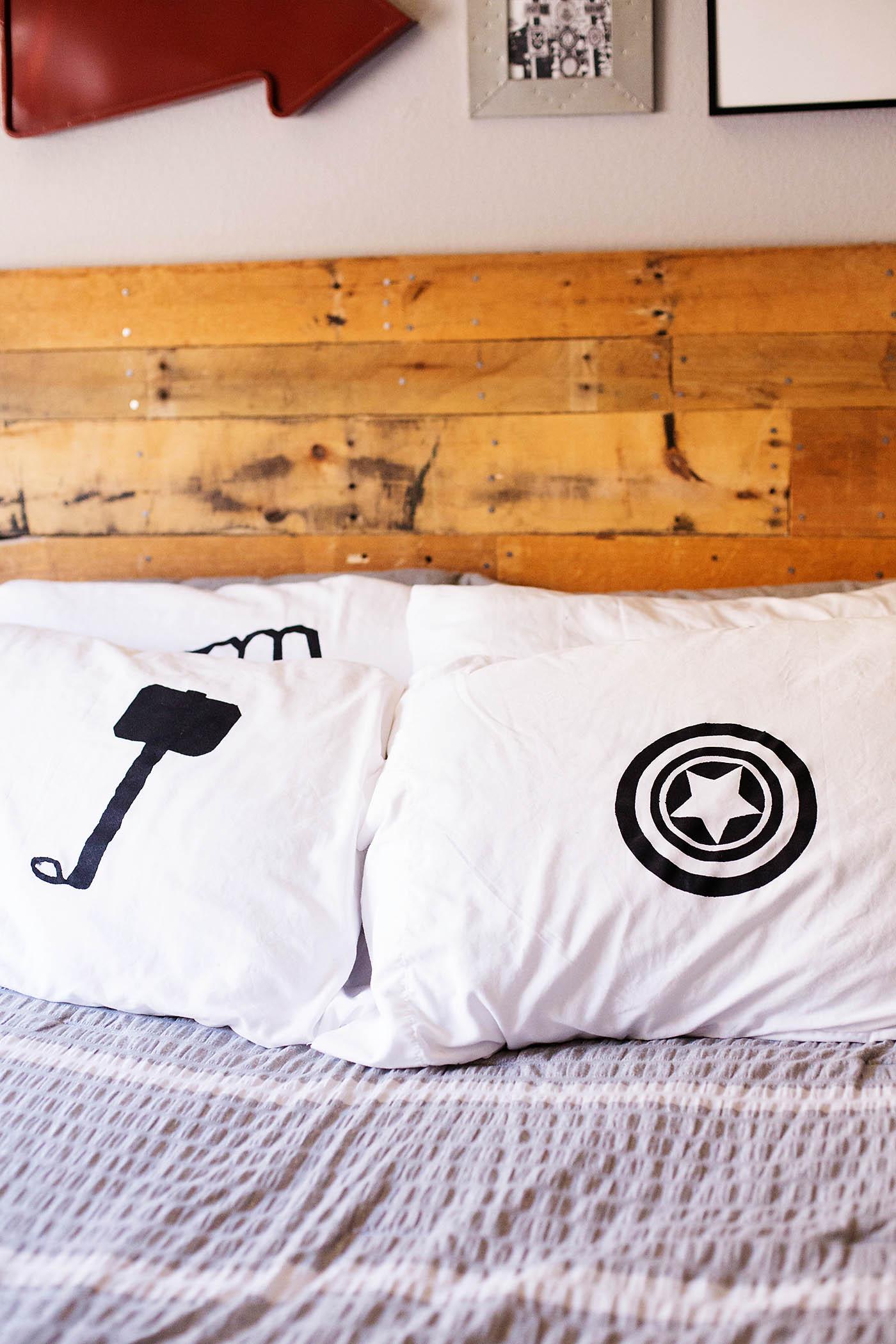 DIY Avengers Pillowcases & DIY Avengers Pillowcases \u2014 All for the Boys pillowsntoast.com