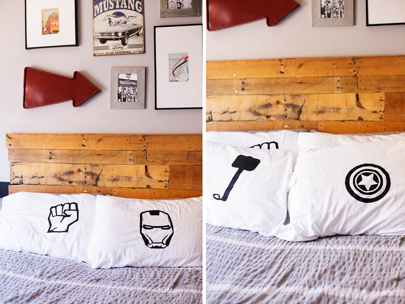 DIY Avengers Pillowcase