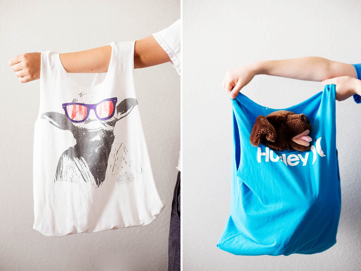 Easy Diy T Shirt Bags