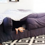 Easy couch fort