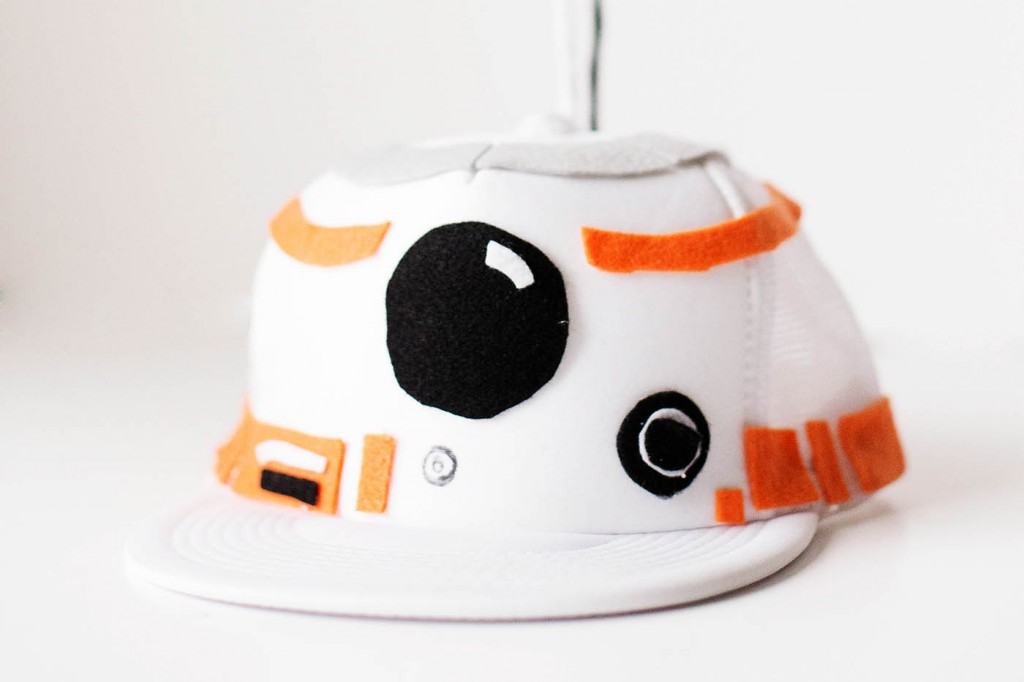 DIY BB-8 Droid Hat & Shirt Costume