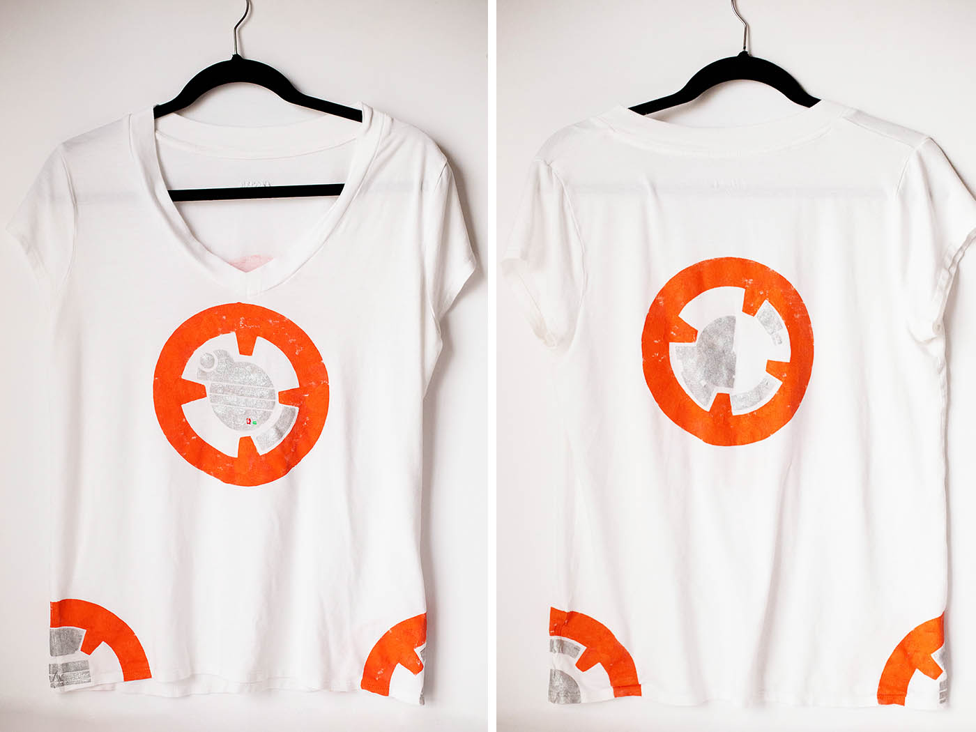 BB-8 t-shirt costume