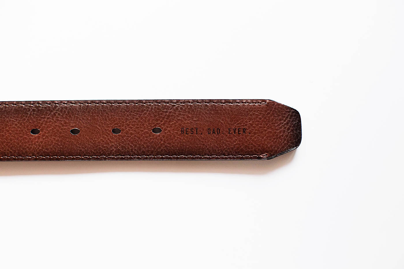 Levi's® Father's Day gift idea with personalized belt