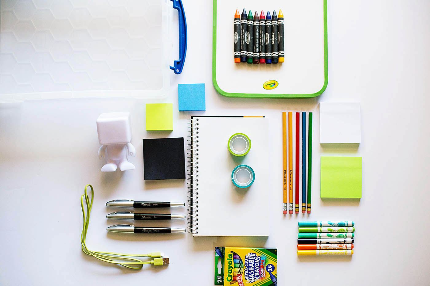 On The Go Travel Activites With Favorite Office Supplies