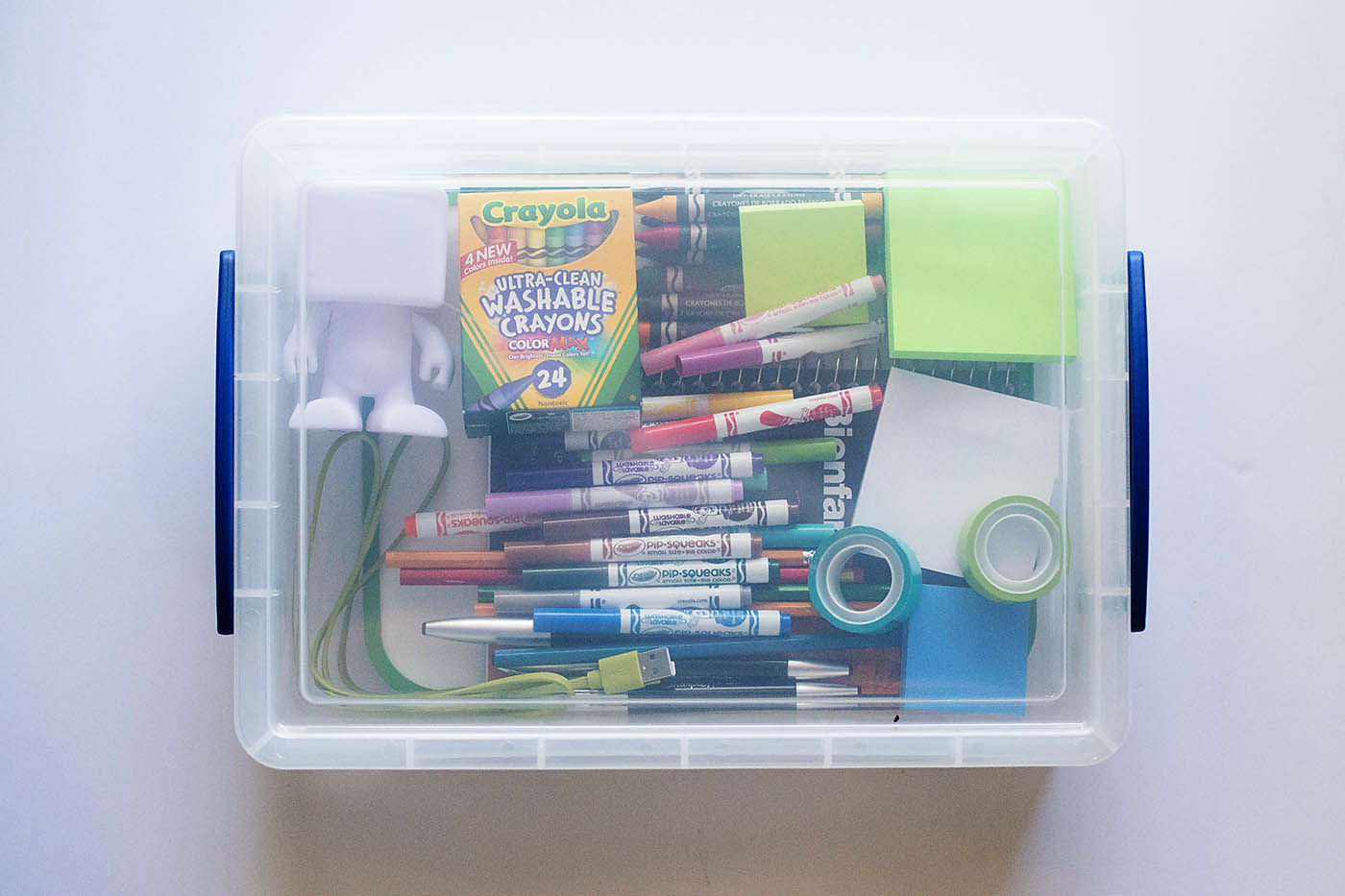 On the go activities using favorite office supplies from Office Depot!