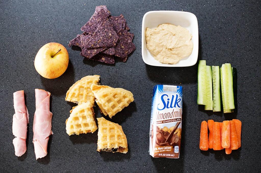 Fun for lunch - waffle sandwich