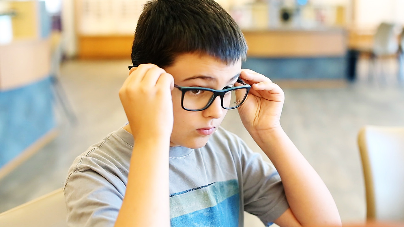 Pearle Vision has a great selection of glasses for teens!
