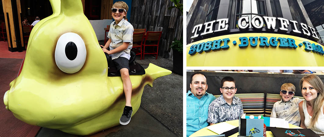 A fun look at Universal Orlando, FL through the eyes of a family with tween boys including what to do, eat, see and where to stay!
