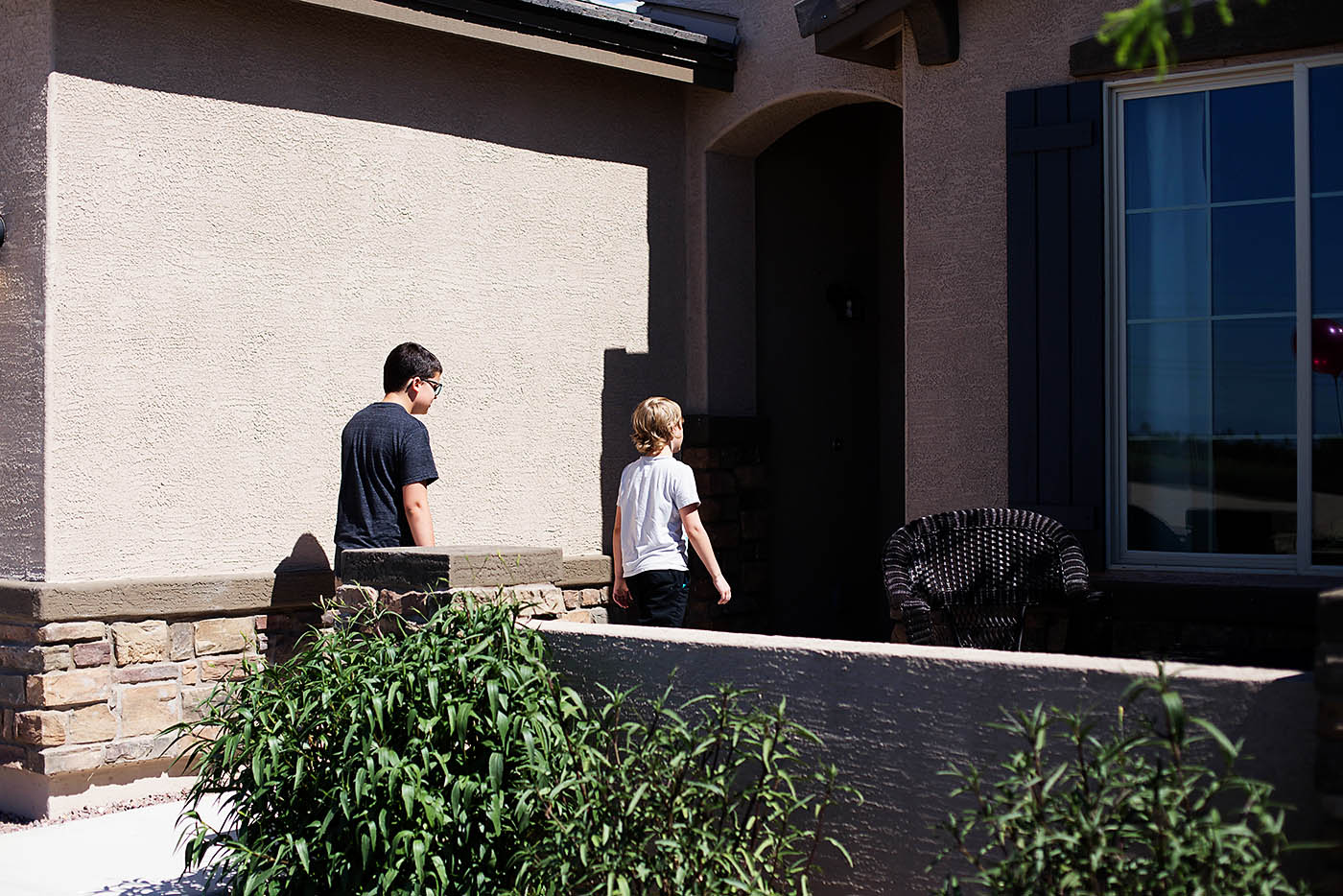 Checking out Beazer Homes models in Phoenix, AZ