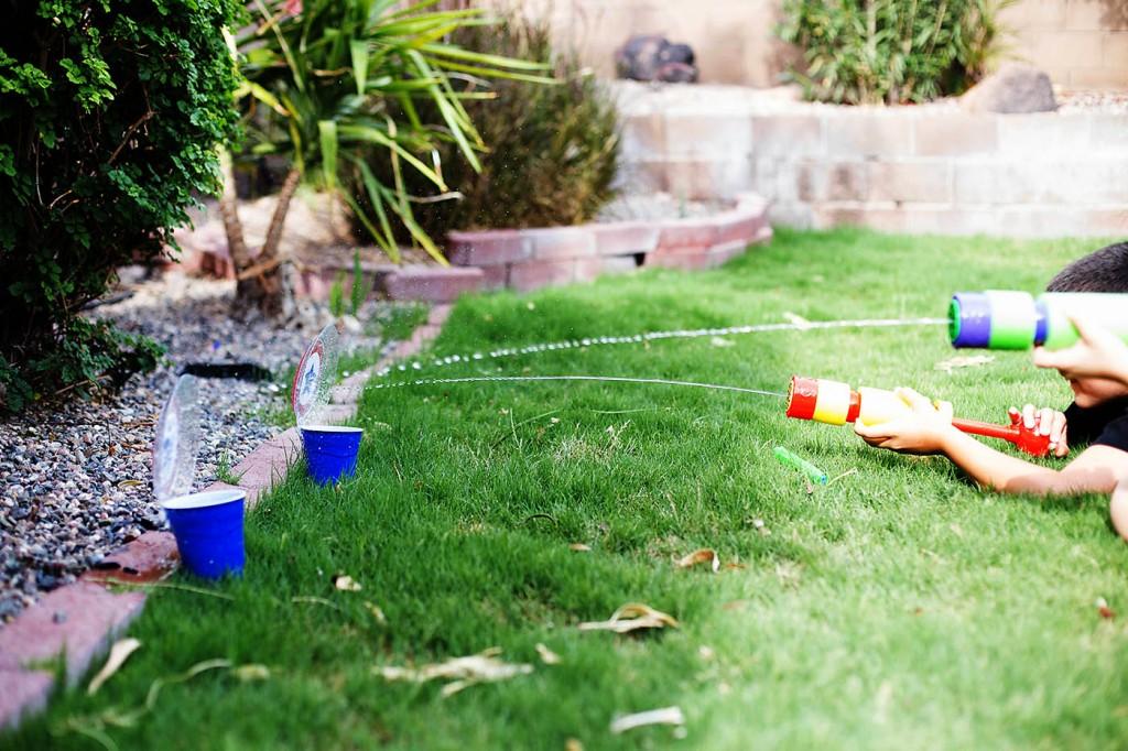 Water Fun – Squirt Gun Targets